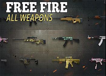 Top các loại súng mạnh nhất trong Free Fire