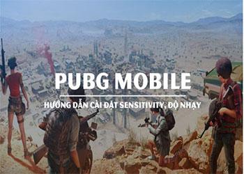 Cách cài đặt độ nhạy trong Pupg Mobile chuẩn nhất 2021