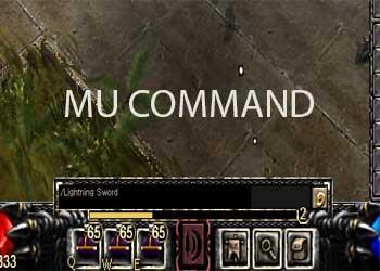 Các lệnh game MU online cơ bản thường dùng nhất